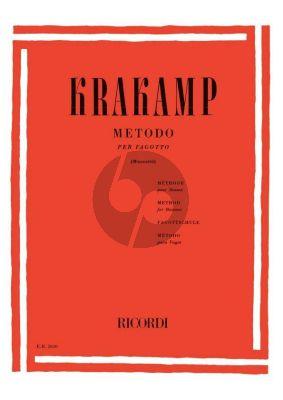 Krakamp Metodo per Fagotto (Revisione di Enzo Muccetti)