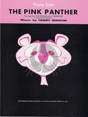 Mancini The Pink Panther Piano solo