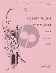 Fuchs Wiener Walzer Op.42 Vol.1 (No.1-10) Klavier zu Hd.