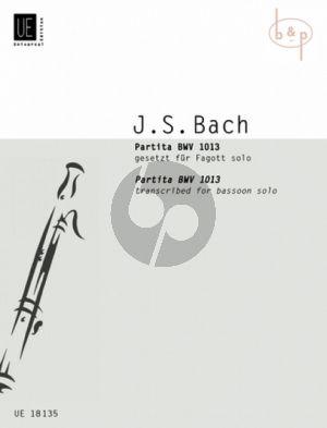 Partita d-moll BWV 1013