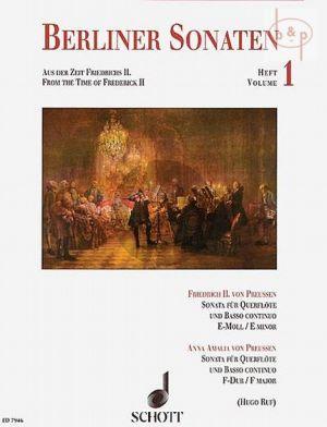 Berliner Sonaten Vol.1 Aus der Zeit Friederichs II
