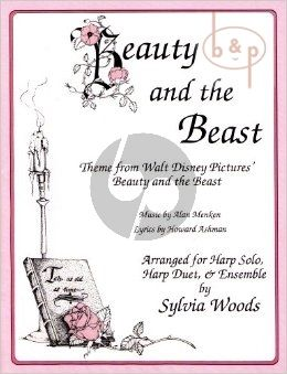 Beauty and the Beast for Harp (solos-duets and ensembles) (from Disney)