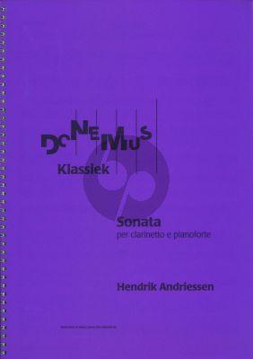 Hendrik Andriessen Sonate Klarinet-Piano