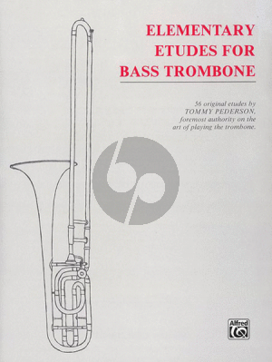 Pederson Elementary Studies for Bass Trombone (56 Original Etudes)