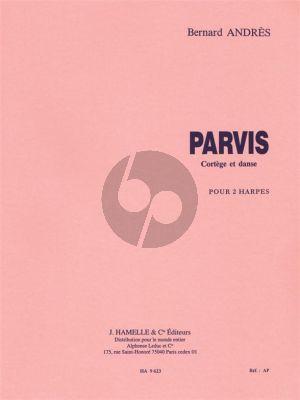 Andres Parvis (Cortege & Danse) 2 Harpes (adv.level)