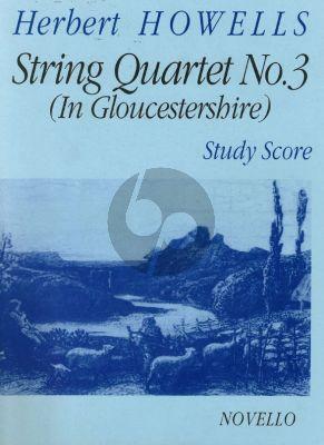 Howells  Stringquartet no.3 studyscore