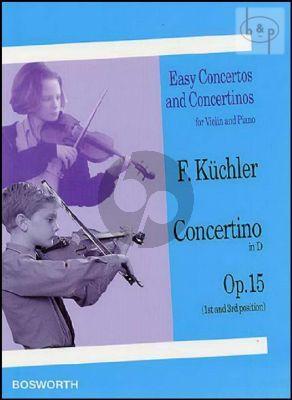Concertino D-major Op.15