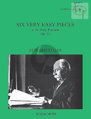 6 Very Easy Pieces Op.22 Viola-Klavier