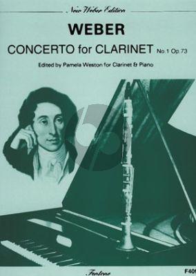 Weber Concerto No.1 f-minor Opus 73 Clarinet and Piano (Pamela Weston)