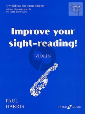 Improve your Sight-Reading Grade 1 Violin