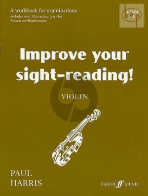 Improve your Sight-Reading Grade 3 Violin