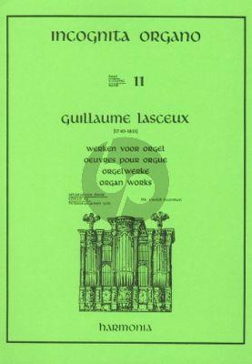 Lasceux Werken voor Orgel (Ewald Kooiman) (Incognita Organo Vol.11)
