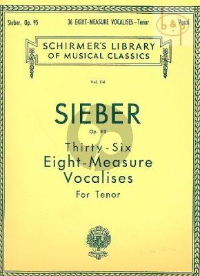 36 Eight-Measure Vocalises Opus 95 Tenor