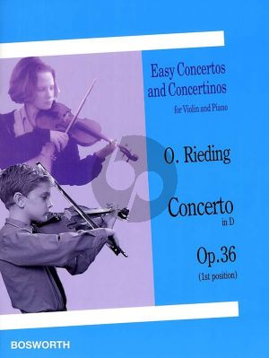 Rieding Concerto D-major Op.36 Violin and Piano (1st Position)