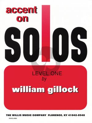 Gillock Accent on Solos Level 1 Piano