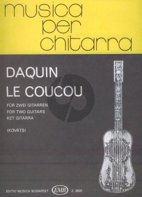 Daquin Le Coucou 2 Guitars (transcr. Barna Kováts)