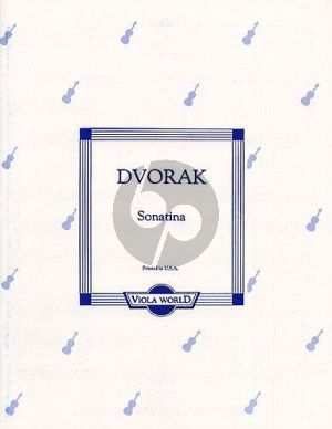 Dvorak Sonatina Op.100 for Viola and Piano