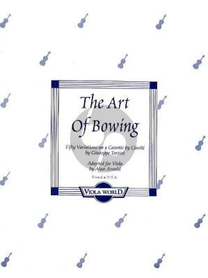 The Art of Bowing Viola