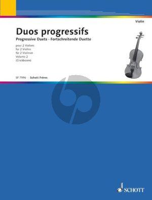 Duos Progressifs Vol. 2 2 Violins (Mazas - Pleyel) (Matthieu Crickboom)