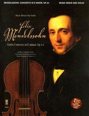 Mendelssohn Concerto e minor Op.64 Violin-Orchestra (Bk-2 CD's)
