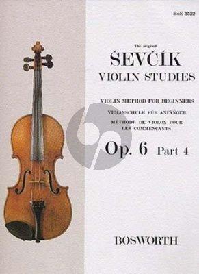 Violin Method for Beginners Op.6 Vol.6