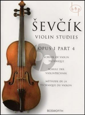 School of Violin Technique Op.1 Vol.4