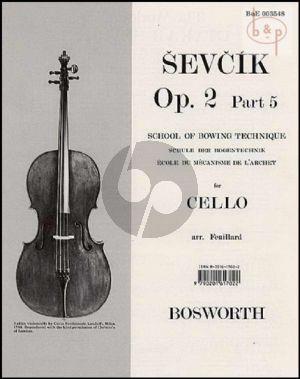 School of Bowing Technique Op.2 Vol.5