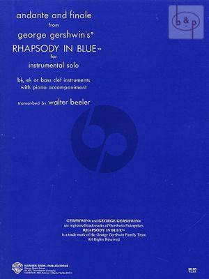 Andante & Finale from Rhapsody in Blue
