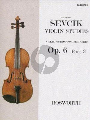 Violin Method for Beginners Op.6 Vol.3