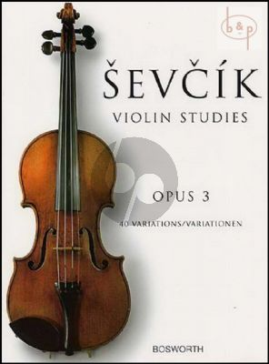 40 Variations Op.3 Violin