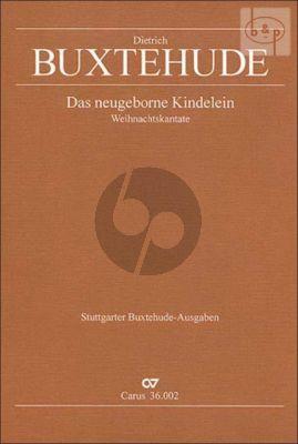 Das Neugeborene Kindelein (BuxWV 13) (SATB- 3 Vi.-Vc.[Bsn.]-Bc)