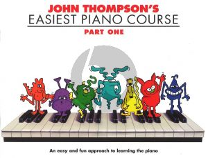 Thompson Easiest Piano Course vol.1