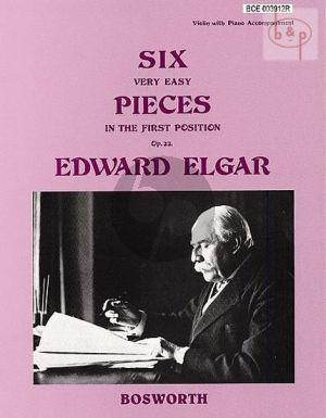 6 Very Easy Pieces Op.22 Violin-Piano
