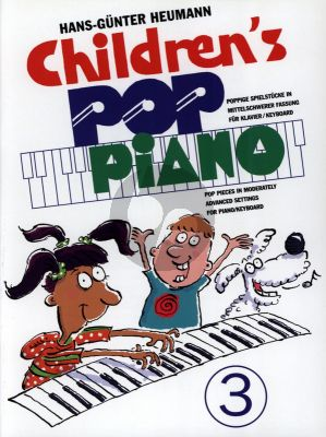 Heumann Childrens Pop Piano Vol.3 for Piano[Keyboard] (Advanced)