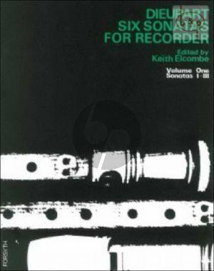 6 Sonatas Vol.1
