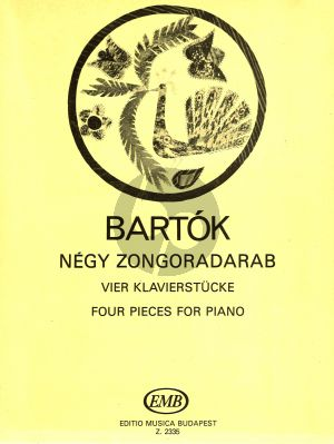 Bartok 4 Piano Pieces