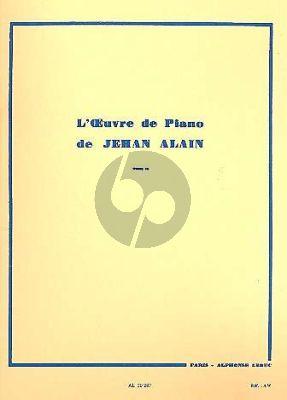 Alain L'Oeuvre de Piano Vol. 2