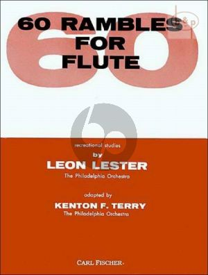 60 Rambles for Flute