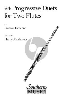 Devienne 24 Progressive Duets for 2 Flutes (Harry Moskovitz)