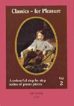 Album Classics for Pleasure Vol.2 Piano (arranged by Per Selberg)