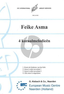 Asma 4 Koraalmelodien voor Orgel