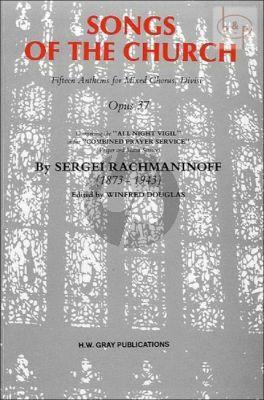 Songs of the Church SATB opus 37