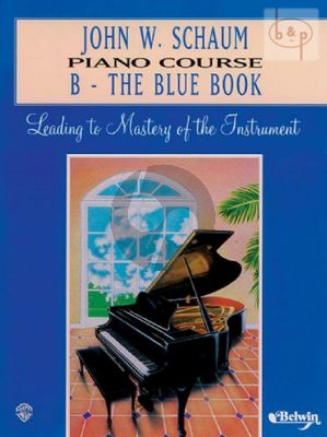 Piano Course Book B The Blue Book