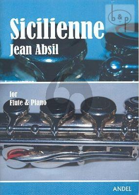 Sicilienne Flute-Piano[Harp]