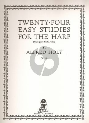 Holy 24 Easy Studies Op.26 for the Harp