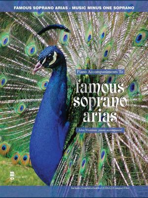 Famous Soprano Arias (Bk-Cd) (MMO) (Pianist John Wustman)