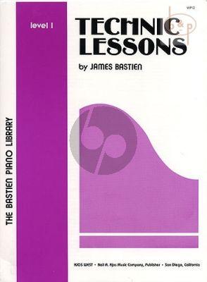 Technic Lessons Level 1 piano