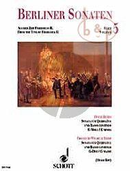 Berliner Sonaten Vol.5 Aus der Zeit Friederichs II (F. Benda - F.W. Riedt) (edited Reinhard M.Ruf)