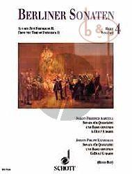 Berliner Sonaten Vol.4 Aus der Zeit Friederichs II (J.F. Agricola - J.P. Kirnberger) (ed. Reinhard M.Ruf)