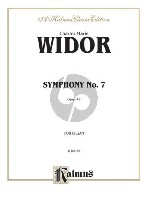 Widor Symphony No.7 A-minor Op.42 Organ